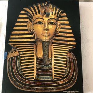 VINTAGE Springbok Mask of Tutankhamun Puzzle